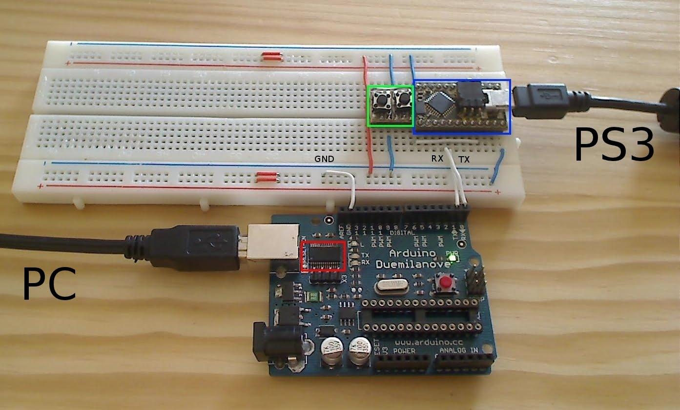 DIY USB adapter - GIMX