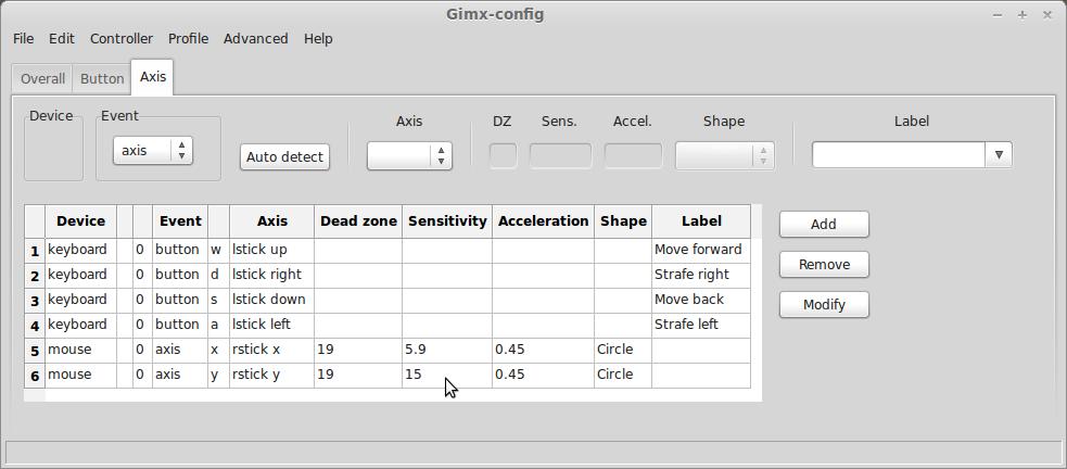 Quick Start - GIMX
